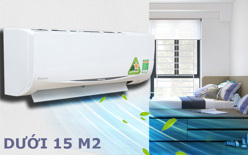 Điều hòa Daikin FTKC25RVMV 9000BTU 1 chiều Inverter