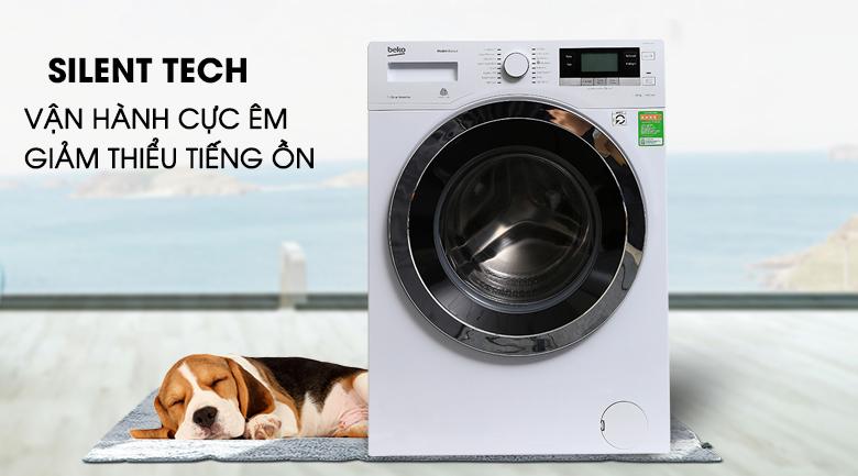 Công nghệ giặt yên tĩnh Silent Tech