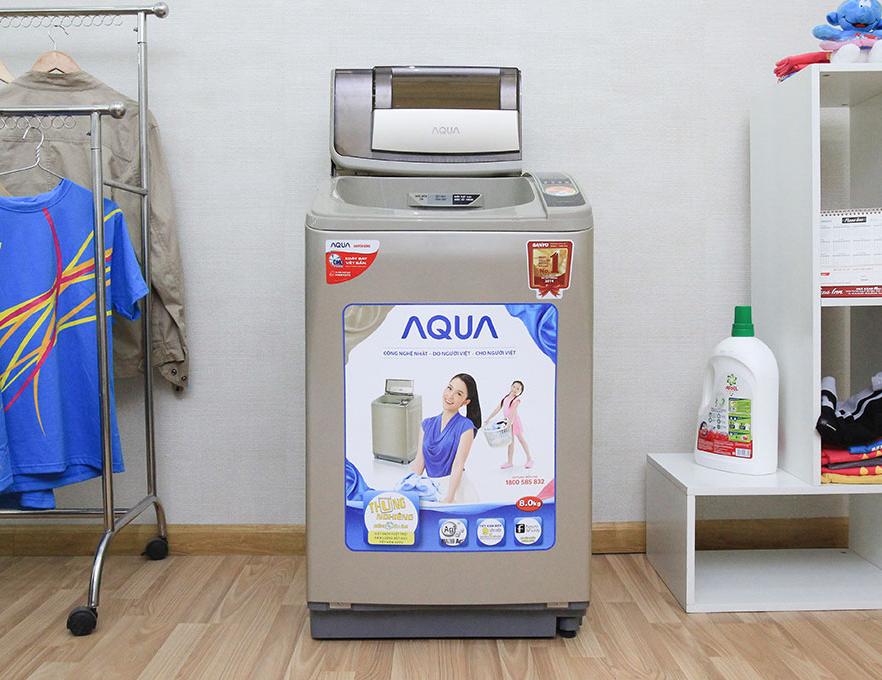 máy giặt lồng đứng aqua aqw-u800z1t