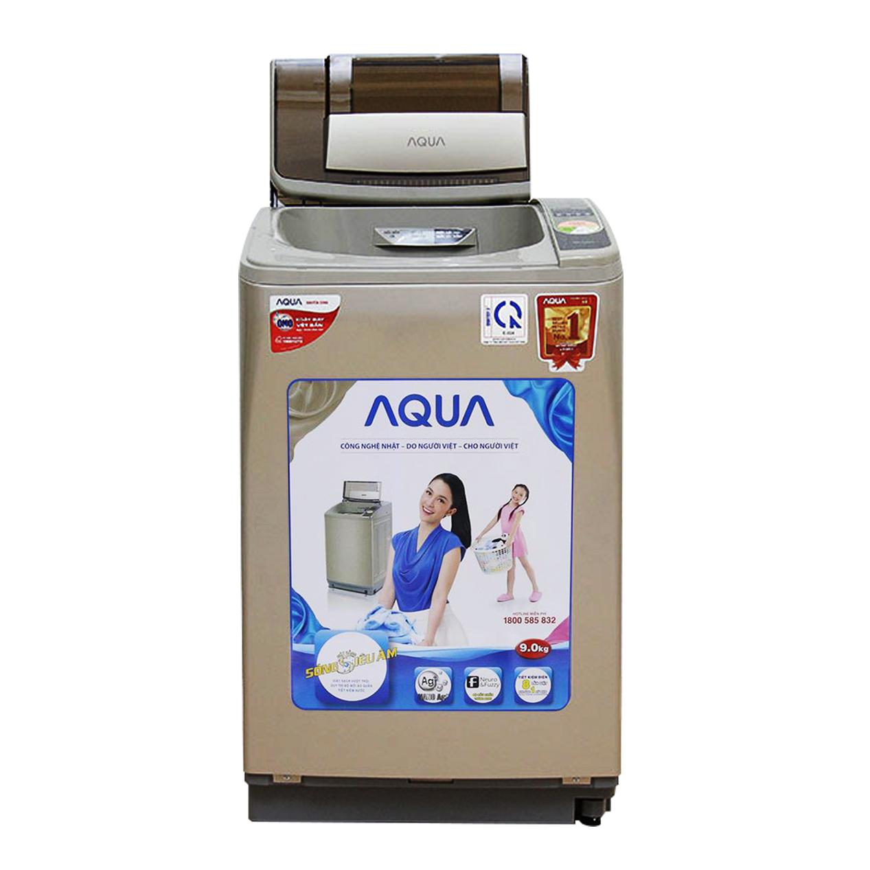 Máy giặt lồng đứng Aqua AQW-U90ZT 9kg