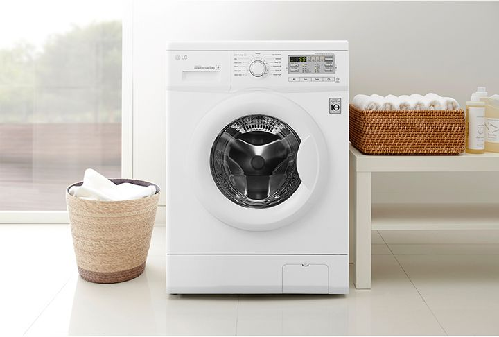 Máy giặt LG F1207NMPW Inverter 7 Kg