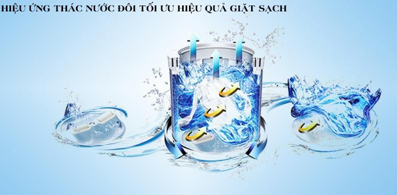 máy giặt toshiba b1000gv hiệu ứng thác nước đôi