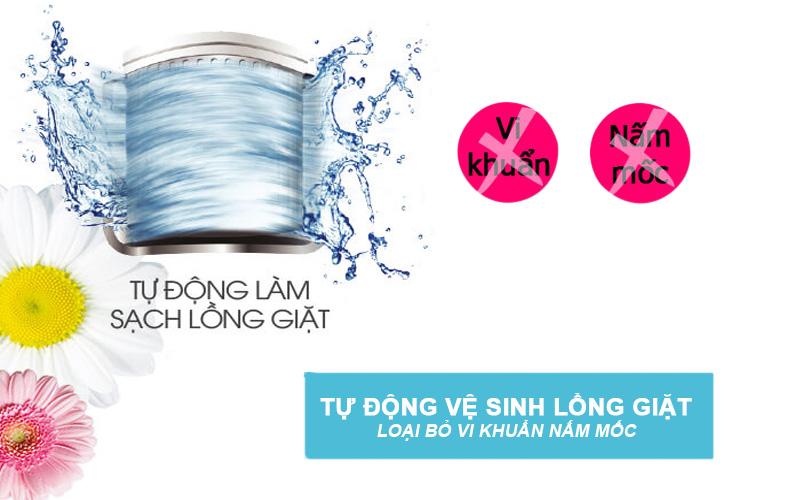 máy giặt toshiba b1000gv tự vệ sinh lồng giặt
