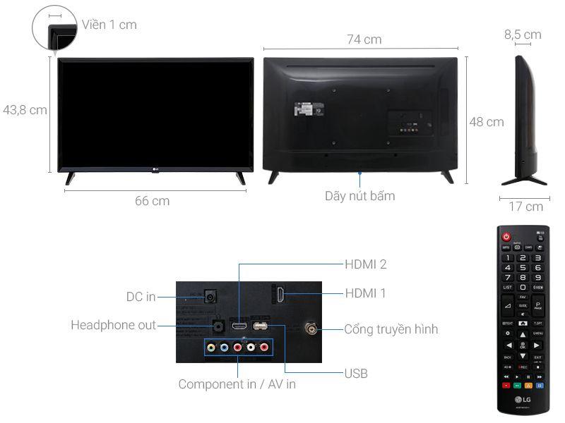 Tivi LG 32LJ510D 32 inch
