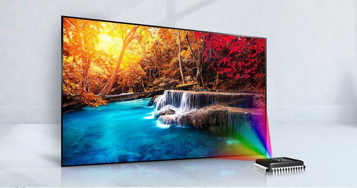 Tivi LG 32LJ510D có màu sắc sống động