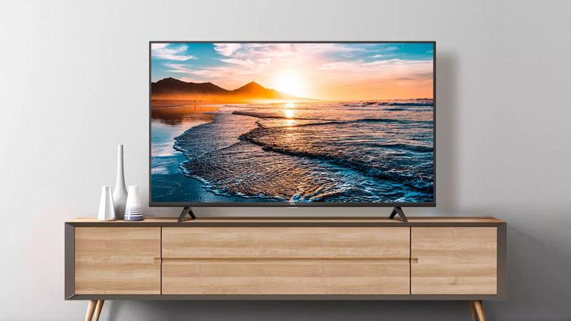 Smart Tivi TCL 4K 50 inch 50T65 thiết kế hiện đại