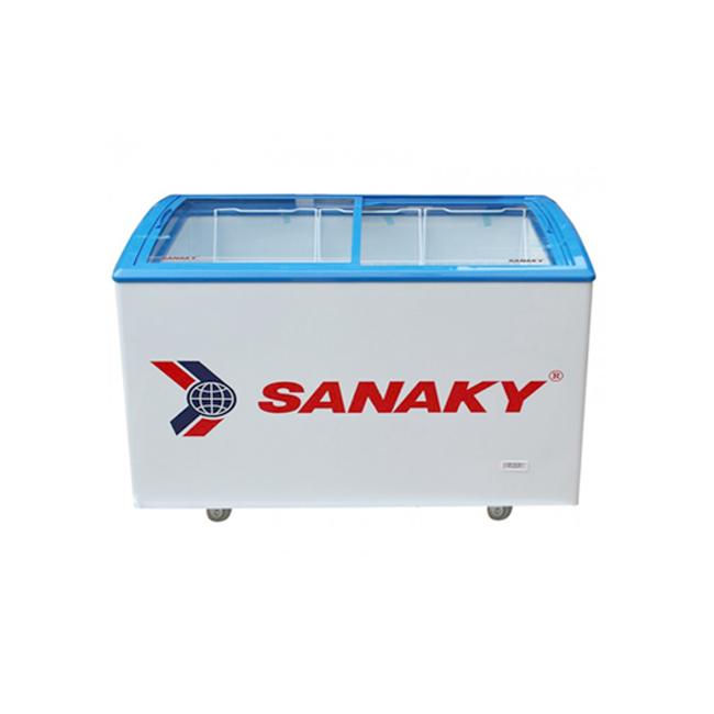 Tủ đông kính lùa cong Sanaky VH-302K