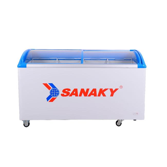 Tủ đông kính lùa cong Sanaky VH-682K