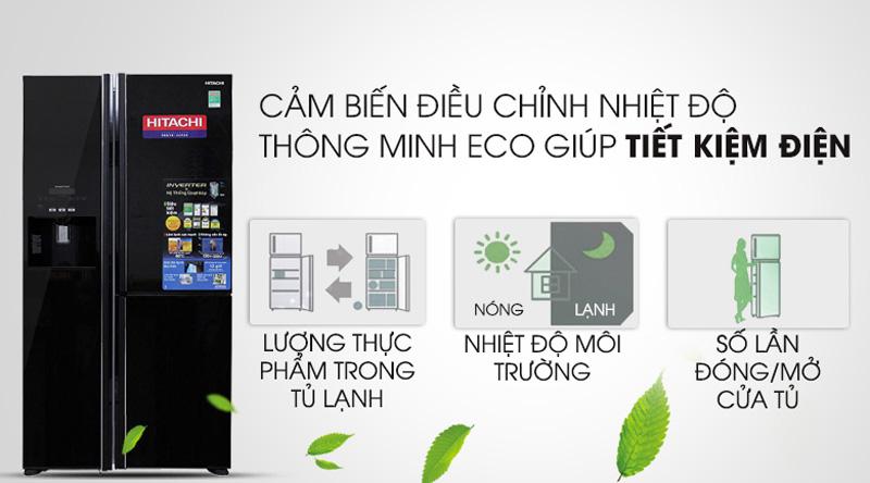 Trang bị cảm biến Eco thông minh