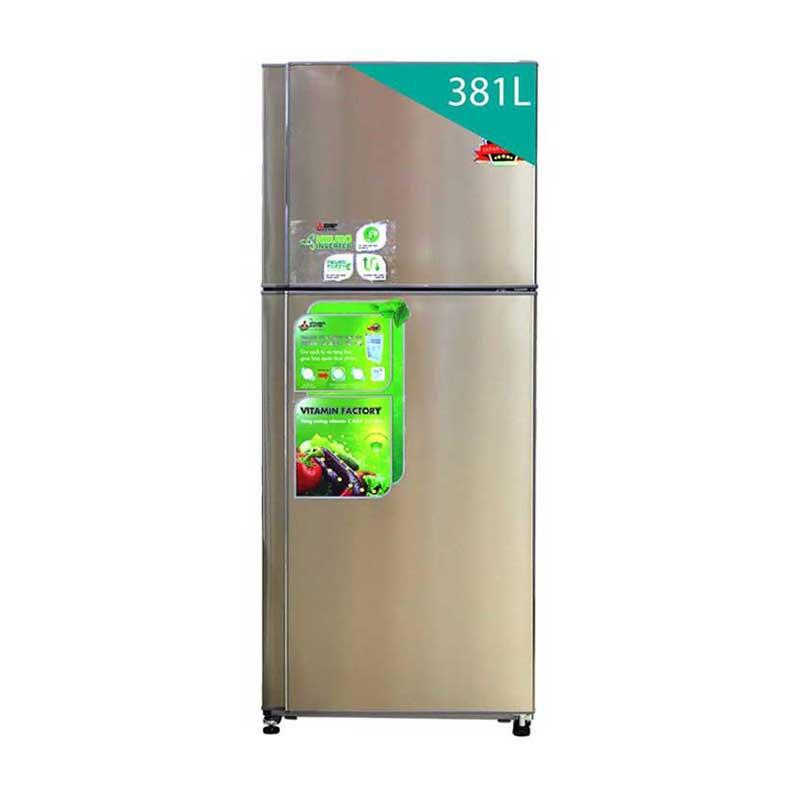 Tủ lạnh Mitsubishi MRF47EHSTV 381 lít kiểu dáng sang trọng