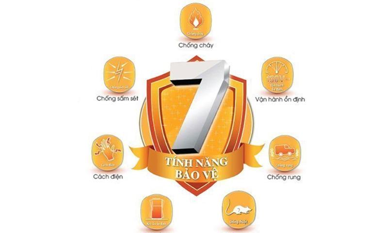7 tính năng bảo vệ