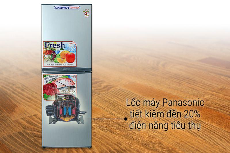Máy nén Panasonic vận hành êm ái, độ bền cao