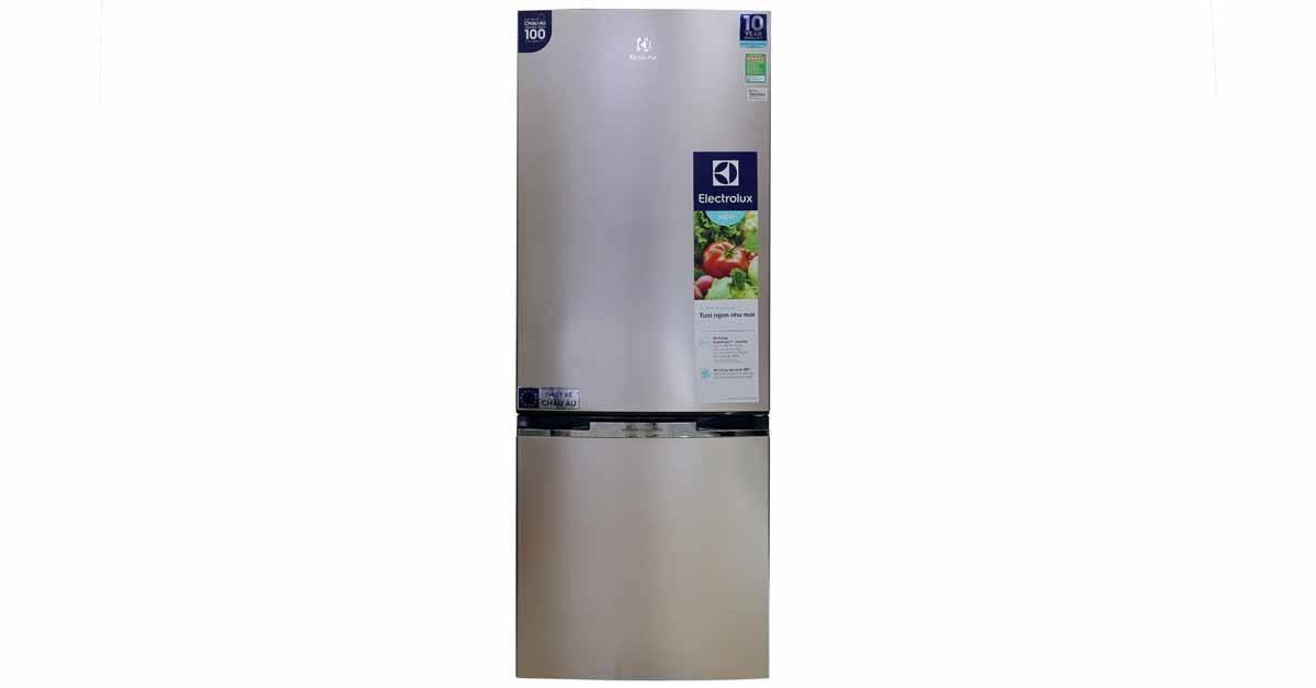 Tủ Lạnh Electrolux EBB3200GG thiết kế hiện đại, sang trọng