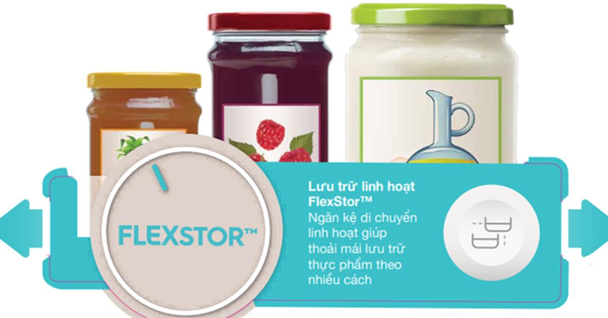 Ngăn kệ linh động FlexStor