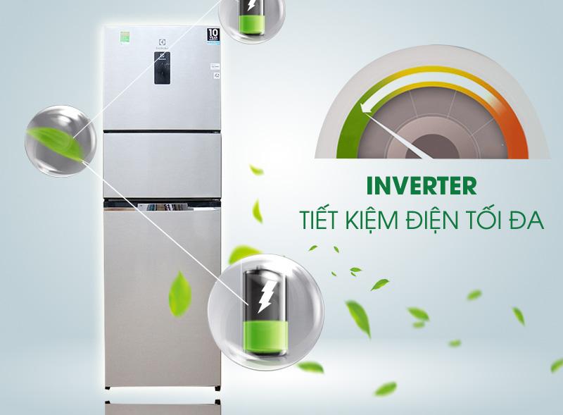 Công nghệ Inverter vận hành bền bỉ, tiết kiệm điện